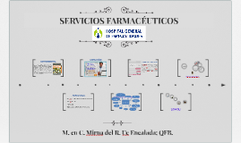 Copy of SERVICIOS FARMACÉUTICOS