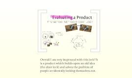 Evaluation of a Door Lock