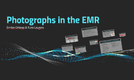 Photographs in the EMR