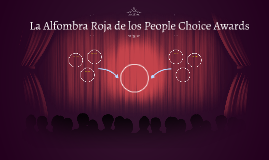 La Alfombra Roja de los People Choice Awards