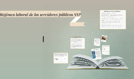 Régimen laboral de los servidores públicos SSP