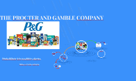 THE PROCTER AND GAMBLE COMPANY