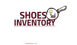 INVENTORY SHOES