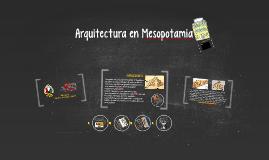 Arquitectura en Mesopotamia