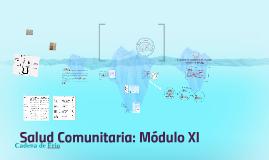 Salud Comunitaria: Módulo XI
