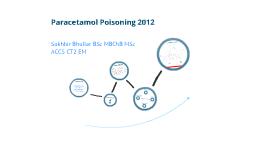 Paracetamol Poisoning 2012