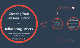 Copy of Creating Your Personal Brand and Influencing Others