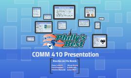 COMM 410 Presentation