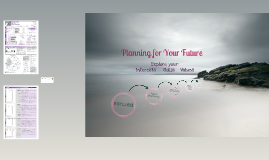 Planning for your Future- EXPLORE