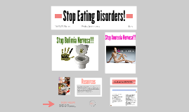 Stop Eating Disorders!!