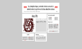 Copy of Las principales etapas y corrientes teóricas acerca de la ad