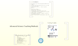 Advanced Science Teaching Methods