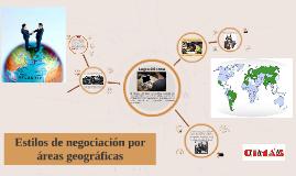 Estilos Nacionales de Negociación