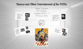 Dances of the 1920's