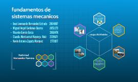fundamentos de sistemas mecanicos