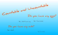 Contable and Uncontable