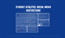 Student Athletes: Social media restrictions