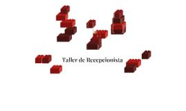 Taller de Recepcionista