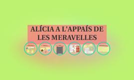 ALÍCIA A L'APPAÍS