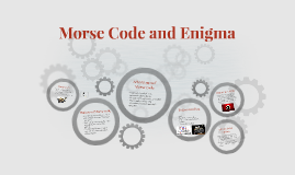 Morse Code and Enigma