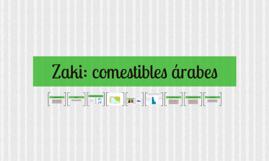 Zaki: comestibles árabes