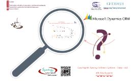 GHOBASH GCG - CRM Training V02