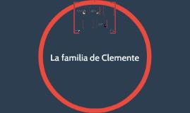 La familia de Clemente