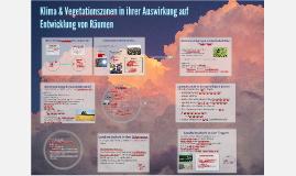 Räume, Klima & Vegetationszonen
