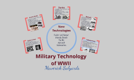 Millitary Technology in WWII