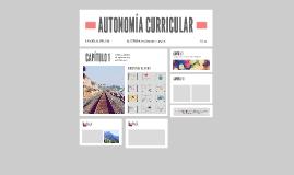 Copy of AUTONOMÍA CURRICULAR