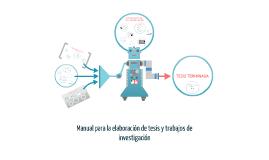 Copy of Manual para la elaboracion de tesis y trabajos de investigac