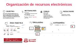 Copia de Organización de recursos electrónicos