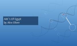 ABC's Of Egypt