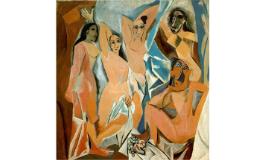Cubismo e Máscaras Africanas - Picasso e Braque - 8ºs anos