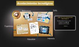 Acontecimientos tecnológicos