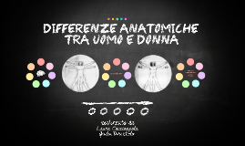 Differenze anatomiche tra uomini e donne