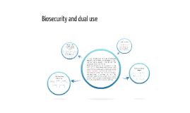 Biosecurity and dual use