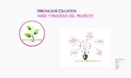 Copy of FASES Y PROCESOS DEL PROYECTO INNOVADOR
