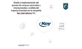 Diseño e implementación del proceso de compras nacionales e