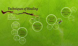 techniques of healing