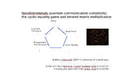 Nondeterministic quantum communication complexity: