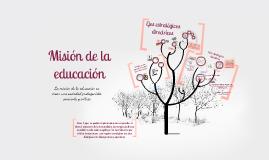 Copy of La misión de la educación para la era planetaria