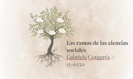 Las ramas de las ciencias sociales