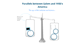 Parallels between Salem and 1950s America