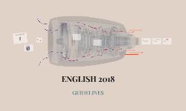 ENGLISH 2018