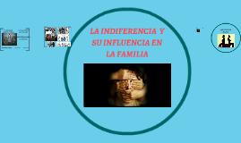 LA INDIFERENCIA  Y SU INFLUENCIA EN LA FAMILIA