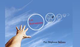 Copy of  Les instruments