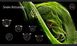 Snake Antivenom