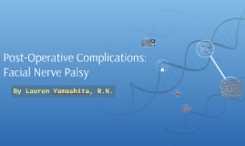 Post-Operative Complications: Facial Nerve Palsy