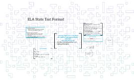 ELA State Test Format